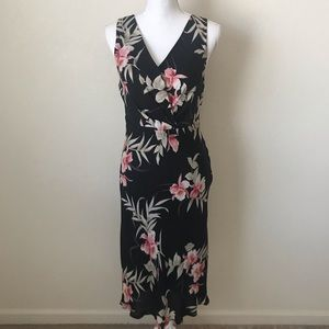 Tommy Bahama Surplice Floral Dress